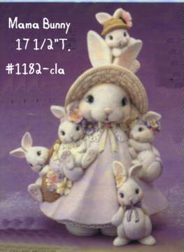 Ceramic Painters Web Site Bisque Easter Bunny Rabbits