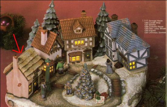 dickens village - Ceramic Christmas Houses